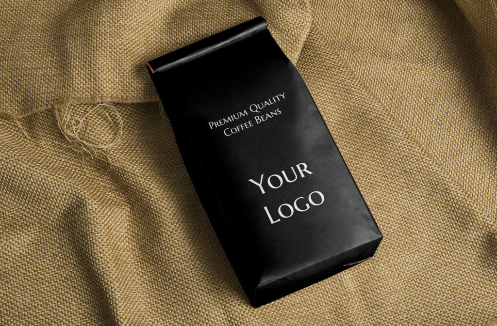 private label coffee bag