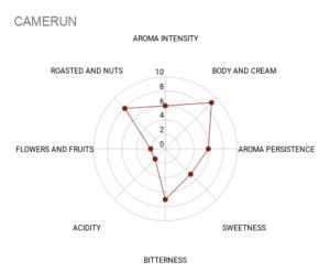 Mokasol Camerun sensory chart
