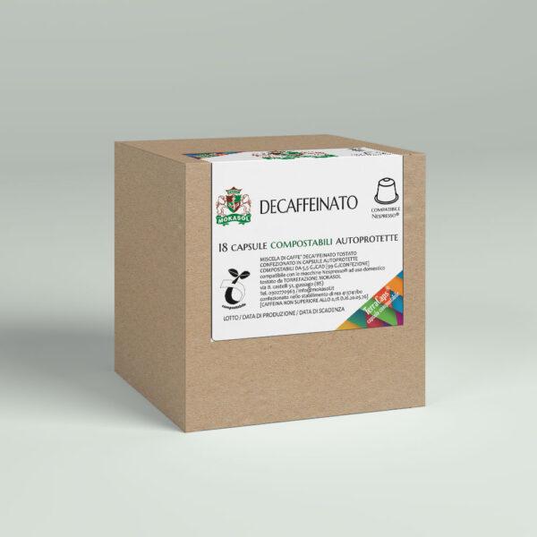 capsule compostabili Decaffeinato Mokasol