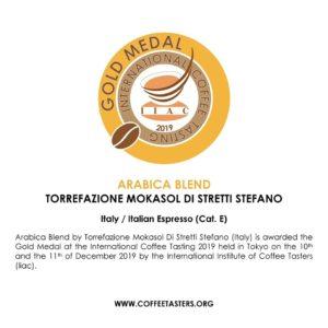 Mokasol Arabica Blend Gols Medal ITC 2019