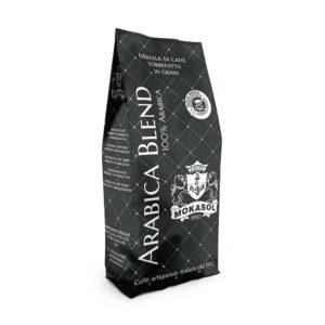 Mokasol Arabica Blend sacchetto 1kg in grani
