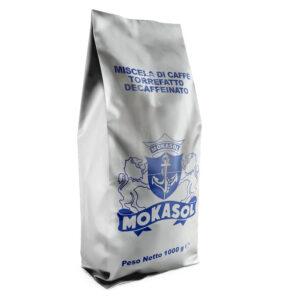 Mokasol Decaffeinato sacchetto 1 kg in grani
