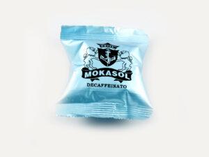 Mokasol Decaffeinato compatible pods