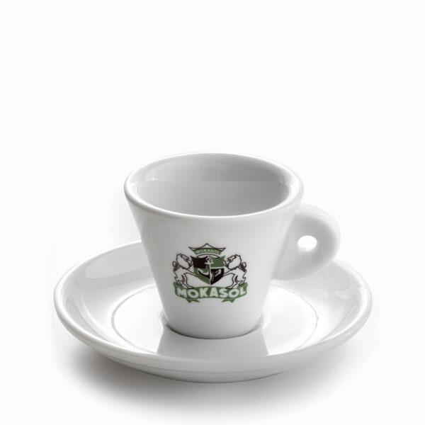 Mokasol Tazzina Espresso Bianca